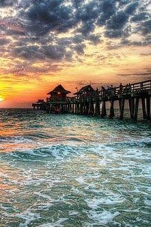Naples, Florida waiting for me on Wednesday! Clearwater Florida, Sarasota Florida, Florida Beaches, Kissimmee Florida, Florida Keys, Old Florida, Naples Sunset, Naples Pier, Orlando