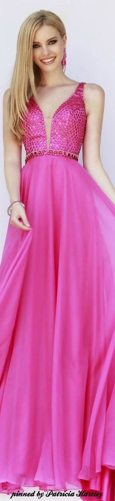 Sherri Hill in pink dress. Pinned by Cindy Vermeulen. Please check out my other 'sexy' boards. X.