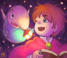 Nino kuni - jeux vidéo réalisé par le studio Gibli Oi need a light there Ollie boy? by Ry-Spirit.deviantart.com on @deviantART
