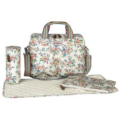 Kingswood Rose Premium Double Pocket Nappy Bag | Cath Kidston |