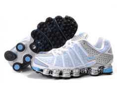san francisco 95c28 1863f Women s Nike Shox TL Shoes White Light Blue Silver For Sale, Price   79.51  - Women Stephen Curry Shoes Online