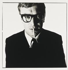 Chasing Light  photography, sandwiches, cigarettes, Doug Kim is a fine art, documentary photographer based in Brooklyn, NY.  Photo: Michael Caine, 1965 © David Baiely