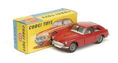 Corgi Toys - M.G.B  G.T. - N°327