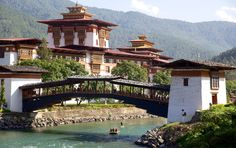 Destinations in Bhutan - Punakha Dzong