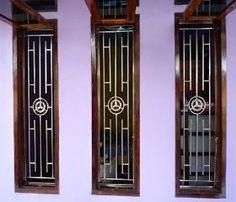 Main door grill design modern 18 ideas for 2019 Iron Window Grill, Window Grill Design Modern, House Window Design, Grill Door Design, Modern Design, Borneo, Minimalist Window, Minimalist House, Best Front Door Colors