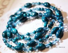 Petrol Bead necklace