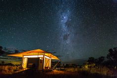 Photo Journey: Western Australia – Coast and Outback Luxury Camping Tents, Tent Camping, Cool Tents, Wildlife Nature, Western Australia, Night Skies, Gazebo, Travel Destinations, Journey