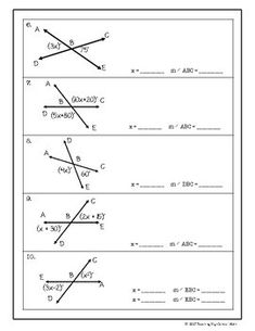 Angle relationships error analysis ccss 7gb5 aligned school geometry vertical angles ccuart Choice Image