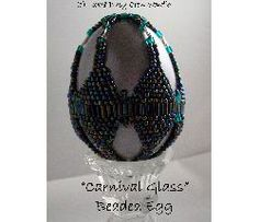 Carnival Glass Beaded Egg Pattern at Sova-Enterprises.com