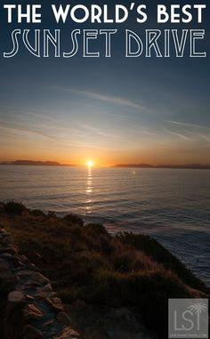 One of the world's best road trips ends with the world's best sunsets. This is Clarence Drive in South Africa's Western Cape, a great drive from Cape Town and the likes of Stellenbosch in the Cape winelands, and heralded as one of the most beautiful drives in the world by the New York Times.