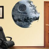 Large Star Wars wall decal for Ethan's room.