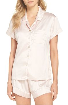 d70c55ed9 Free shipping and returns on Homebodii Piped Short Pajamas at  Nordstrom.com. Silky-