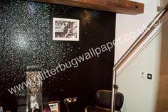 Glitter wallpaper available via our website www.glitterbugwallpaper.co.uk. Follow us on Facebook www.facebook.com/glitterbugwallpaper