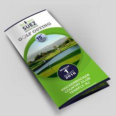Golf Brochure Template Brochure Template Brochures And Template - Golf brochure template