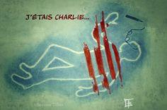 Béatrice Tillier #JeSuisCharlie #CharlieHebdo