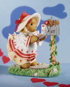 Sealed With A Kiss Cherished Teddies Teddy Bear Figurine