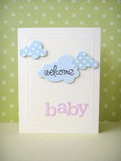 welcome baby by donna mikasa, via Flickr