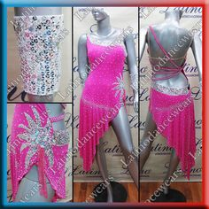 LATIN RHYTHM SALSA BALLROOM COMPETITION DANCE DRESS - SIZE S, M, L (LT939) #LatinoDancewears Dance Dresses, Salsa, Competition, Gowns, Clothes, Dancing, Fashion, Vestidos, Outfits
