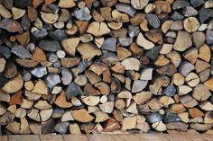 Vysněná zahrada: Dřevo na topení v zahradě Outdoor Firewood Rack, Firewood