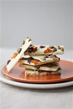 Bags of these make the most wonderful Christmas Host and Hostess gifts - that is, if their not all consumed by your parties!  Barefoot Contessa - Recipes - White Chocolate Bark