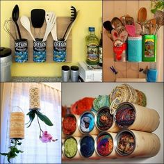 50 easy DIY projects made from items in your recycling #DIY #ideas #gogreen #recycling