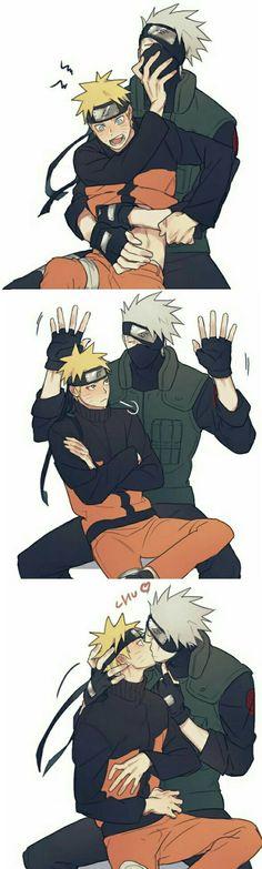 Kakashi And Naruto Wieso nur .... Das kann man doch nicht shippen,die beiden passen doch gar nicht zsm....