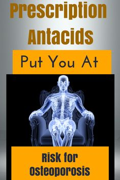 Did you know that prescription antacids put you at risk for osteoporosis? These drugs deplete magnesium. They are ok for short term use, but do not address the real issues.   http://www.naturalnews.com/032194_antacids_magnesium.html