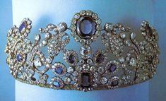 Duchess Of Angoulême's Sapphire And Diamond Parure