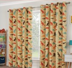 Buy Little Home At John Lewis Dinotastic Pencil Pleat