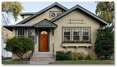 spanish bungalow interior paint colors | Cozy Cottage — A Craftsman-style bungalow gets an eclectic palette ...