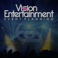 Creative Hat's Logo Design Concept for Vision Entertainment