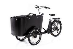 The world's most safe, sustainable, and stylish family bike is here! Complete with seatbelts and electric bike capabilities, the Ferla Family Cargo Bike is the bike your family deserves. Electric Cargo Bike, Steps Design, Bikes For Sale, Roll Cage, Winter Camping, Bike Design, My Ride, Matte Black, Stylish
