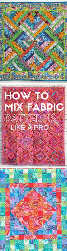 How To Mix Fabric Patterns: Free Tutorial