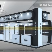 8 Meter x 3 Meter Exhibition Stand Build - - 24 Square Meter Exhibition Stand Build, Exhibition Stall Design, Square Meter, Design 24, Company Names, Construction, Hyderabad, Chennai, Mumbai, Building