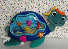 Baby Einstein Baby Neptune #Turtle Soothing Seascape #Crib Toy #OceanCribSoother #teamsellit