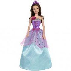 Lalka ubrana w zachwycającą fioletowo-niebieską suknię z szerokim dołem i lśniącą baskinką wygląda jak doskonała księżniczka.  Dodatki lalki Corinne® to fioletowy diadem z błyskawicą. Dziewczynki mogą bez końca odtwarzać magiczne przygody z filmu!