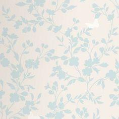 Fine Decor Saskia Wallpaper - Duck Egg
