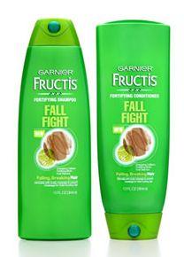 Garnier Fructis Fall Fight Shampoo and Conditioner
