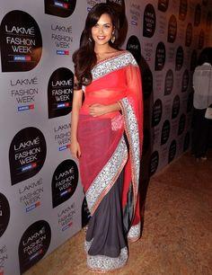 Esha Gupta in Manish Malhotra  love the color combination