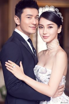 4 tips to recreate Angelababy and Huang Xiaoming's breathtaking wedding portraits! Wedding Ceremony Ideas, Wedding Poses, Wedding Couples, Wedding Portraits, Wedding Dresses, Wedding Album, Asian Wedding Makeup, Wedding Hair And Makeup, Bridal Hair