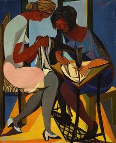 Renato Guttuso (1912-1987) Le cucitrici, 1947