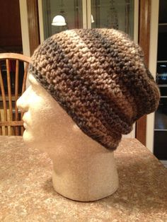 Slouchy Beanie, Wool Blend, Slouch Hat on Etsy, $20.00