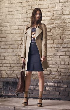 club monaco fw 2012 - a trench is a must