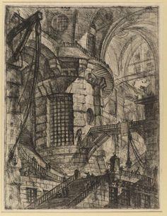The round tower. Piranesi