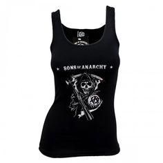 Sons of Anarchy Reaper Women's Tank Top