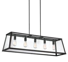 - Overview - Details - Why We Love It - The combo of clear seeded glass with the gleaming shine of polished nickel or bold dark bronze makes this a powerhouse. Plus, we're totally into exposed bulbs s