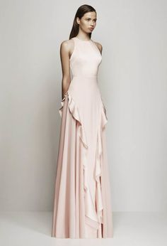 Blush Pink prom dresses,Sexy Prom dress,prom dresses,evening gowns,prom dress,long prom dress by DestinyDress, $157.39 USD