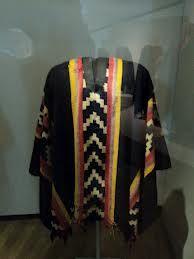 Poncho Araucano del Cacique Calfucurá - Siglo XIX