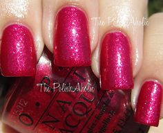 This would be the color on my toes right now - Meep Meep Meep from OPI! Super girly and perfect for New Year's Eve!