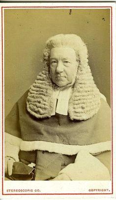 PORTRAIT . Un JUGE anglais - CDV photo vers 1870   eBay